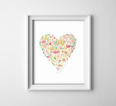 Art Print  Buy One Get One Free  Watercolor by ThePrintAnnex