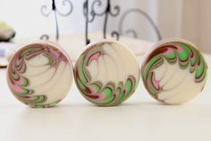 round soap swirl