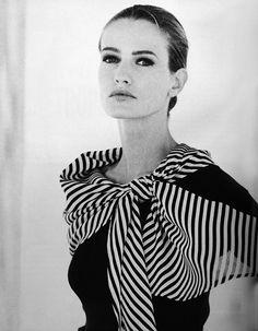 Max Mara 1991 Model: Karen Mulder