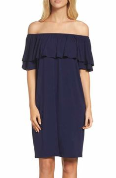 Free shipping and returns on Chelsea28 Off the Shoulder Crepe Dress at Nordstrom.com. Fluttery, flirty and oh-so-easy, this off-the-shoulder shift dress cut from lightweight crepe is your go-to for warm-weather parties and events.