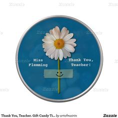 Thank You, Teacher. Teacher Appreciation Day /  Teacher Appreciation Week / Graduation Gift Jelly Belly™  Candy for Teacher with personalized Teacher's name, at zazzle.com