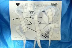 Free Printable: Roller Coaster Craft