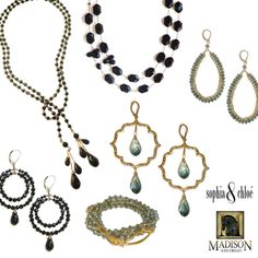 Please join us this Friday, December 13th for a Sophia & Chloe Designer Showcase at the fabulous new boutique Madison San Diego! Designer Nathalie Sherman will be there to adorn you in baubles from 11-4, plus you will receive a FREE gift with your Sophia & Chloe purchase! For more information, please contact Madison at 619.238.0040, The Headquarters 789 West Harbor Drive.