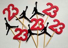 Jumpman Cupcake Toppers Jordan Cupcake by ThisIsElevenEleven