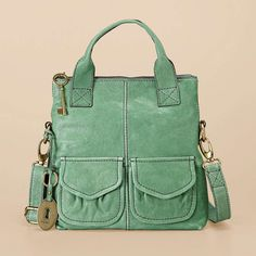 FOSSIL® : Modern Cargo Small Foldover ZB5095 (I want!!! :-) not sure on which color though... The green one is neat but if I'm going to pay that much brown is a better bet I think. It's perfect though