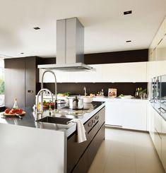 Una cocina de inspiración industrial · ElMueble.com · Cocinas y baños