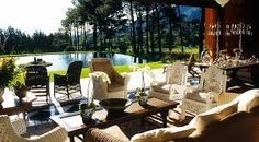 Lounge at La Residence, Franschhoek, South Africa