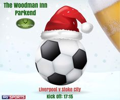 Live football at the Woody! Today! :-) Liverpool v Stoke City Come in and join us for all the action.. #thewoodmaninn #forestofdean #football www.thewoodmanparkend.co.uk