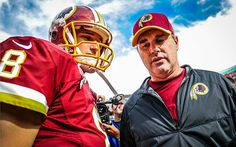 "Jay Gruden doesn't want ""another one-year deal"" with Kirk Cousins Kirk Cousins, Washington Redskins, Football Helmets, Nfl, Blessing, Country, Rural Area, Country Music"