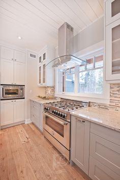 Gorgeous custom kitchen Kitchen Island, Kitchen Cabinets, Home Decor, Island Kitchen, Kitchen Cupboards, Homemade Home Decor, Decoration Home, Kitchen Shelves, Interior Decorating