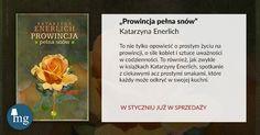 """""""Prowincja pełna szeptu"""" Katarzyna Enerlich, wydawnictwo MG"""