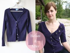 Another tutorial form my previous blog. This is one of those refashions that I just love love love, and I've worn this cardigan a lot after the refashion. So naturally, I just had to share it with you. I'm sure you've noticed that almost everything I do has a romantic vibe. I'm a sucker …
