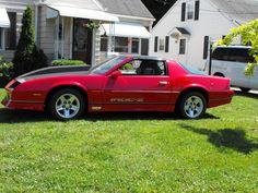 my 1986 Camaro IROC.... fun fast & flashy !!!!
