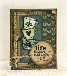 by Laurie Schmidlin - Verve Stamps Inspiration Gallery. Better With You stamp set.
