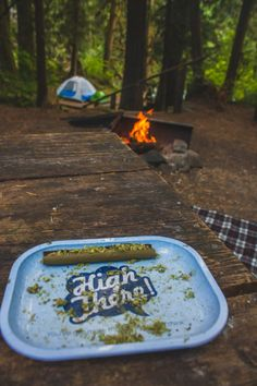 kayseeray:Spoil myself with a blunt after setting up camp