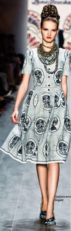 Lena Hoschek Spring Summer 2015 ~Latest African fashion, Ankara, kitenge, African women dresses, African prints, African men's fashion, Nigerian style, Ghanaian fashion ~DKK