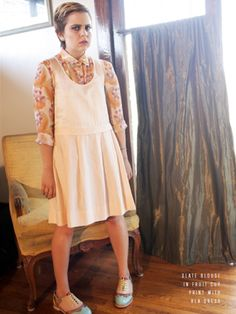 her face is hilarious but her style is dead on Rachel Antonoff's Spring/Summer 2012 Collection: The Complete Lookbook