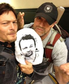 Norman & Michael, The Walking Dead