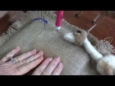 Needle Felted Doe Part 3: Face and Pelt - Bing video