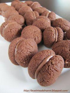 baci di dama cacao e nocciola
