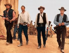 The Wild Bunch, all 4 of these guys, this movie and this scene specifically.
