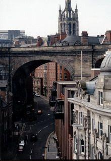 ULICA - Newcastle upon Tyne. Foto. Janusz A. Włodarczyk.