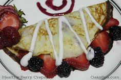 Berry Crepe Recipe