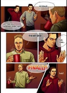 John Stilinski ship Sterek
