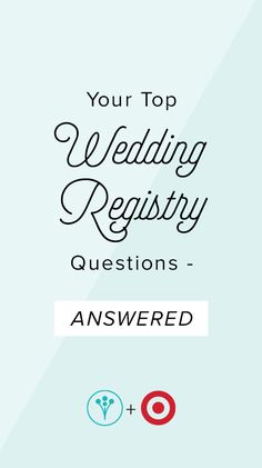 1000 images about registry ideas from target on pinterest for Fun wedding registry ideas