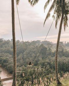 Swinging in Ubud