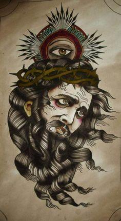Alix Ge - Jesus and Eye