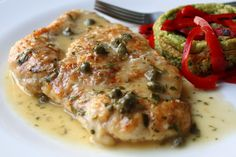 chicken piccata - simple instructions.  this will be a delicious addition to our dinner rotation.