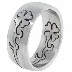 Lucky Clover Stainless Steel Puzzle Ring - Size 7 FreshTrends. $4.00. Save 87%!