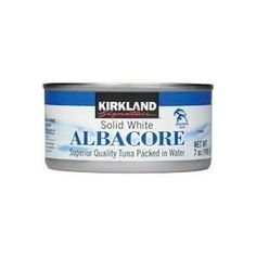 Excellent quality canned albacore tuna from Costco