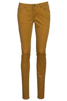 Sennepsgul bukse Khaki Pants, Skinny Jeans, Fashion, Skinny Fit Jeans, Moda, Khakis, Fasion, Trendy Fashion, Trousers