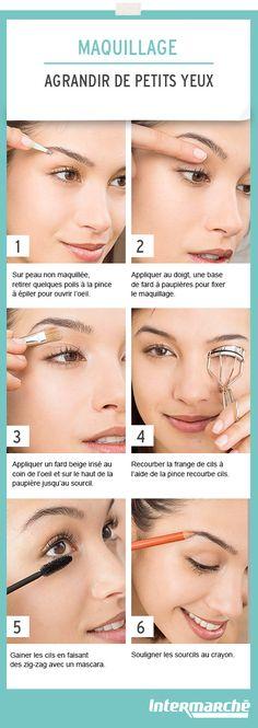 Découvrez comment agrandir votre regard en quelques gestes simples. #tutoriel
