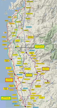 great camino portugues resource! downloadable maps and info