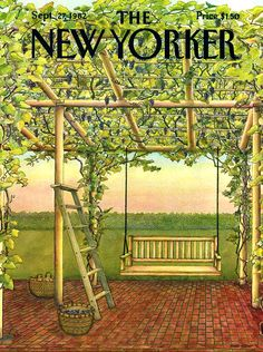 The New Yorker - Monday, September 27, 1982 - Issue # 3006 - Vol. 58 - N° 32 - Cover by : Jenni Oliver