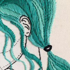 Cinco meadas depois, e um cabelo incrível: Mermaid Hair