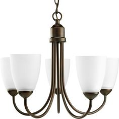 Progress Lighting - Gather Collection Antique Bronze 5-light Chandelier - 785247166862 - Home Depot Canada