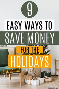 Christmas is the best time of year and my favorite holiday. Don't spend the holidays stressed about money andnot get tofully enjoy the season.