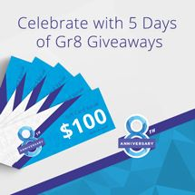 Enter the TicketNework.com 5 Days of Gr8 Giveaways competition to win prize packs and gift cards!