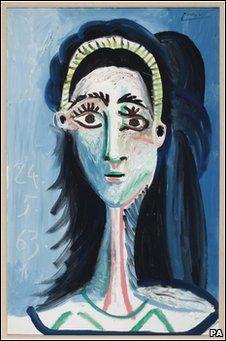 Pablo Picasso, Picasso,  Jacqueline, 1963, Portrait, Painting, Art