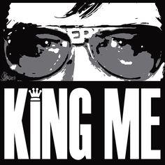 By artist Joe Petruccio The King Rules!! #ELVIS #TheKing #elvisradio #elvispresley #graceland @elvispresleyoklahoma @official_elvis_presley @visitgraceland @elvispresleyfansofnashville @elvispresleyaloha @michianaelvisfans @elvis @4di3 #follow @bestartfeatures #fashion #love #tcb