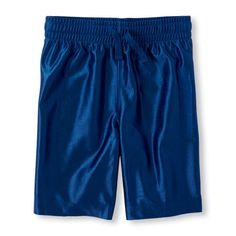 Boys Boys Active Knit Shorts - Blue - The Children's Place