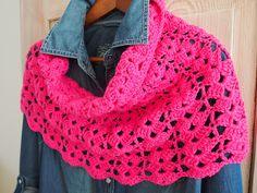 De wereld van Mejuffrouw B, mooie sjaal!