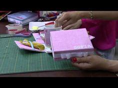 Mulher.com 29/09/2014 - Caixa Porta Xícara e Sache por Ana Paula Viegas - Parte 2 - YouTube