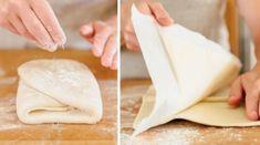 Neskutečně jednoduché domácí listové těsto: vyzkoušejte a to z obchodu už si nikdy nekoupíte! -