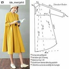 #Repost @ide_menjahit with @repostapp ・・・ Pola dress. Silahkan share ke teman2mu  Sumber: pinterest #idemenjahit #belajarmenjahit #ideuntukjahitanmu #idemenjahit_poladress #idemenjahit_polatunik #idemenjahit_pola #poladress #polatunik #pola #sewingproject #ayomenjahit #ilovesewing #crafting #sewing #patterns #sewingtutorial #diy #doityourself #tailorindonesia