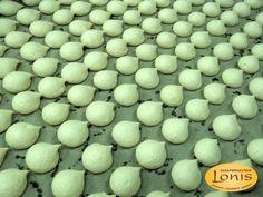 Μπεζέδες μαστίχα - Ζαχαροπλαστείο Lonis - www.lonis.gr Eggs, Breakfast, Food, Morning Coffee, Essen, Egg, Meals, Yemek, Egg As Food